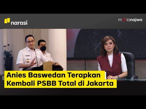 Siap-Siap Rem Darurat: Anies Baswedan Terapkan Kembali PSBB Total di Jakarta (Part 1) | Mata Najwa