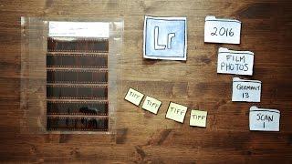 Wie zu Scannen und Organisieren 35mm Film Negative (Snippet 16)