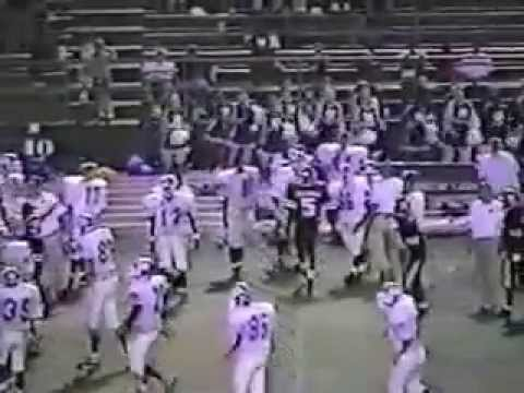 1997 Escambia Gators Football Defense District Games