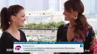 Agnieszka Radwanska | WTA Live All Access Hour presented by Xerox | 2014 WTA Finals