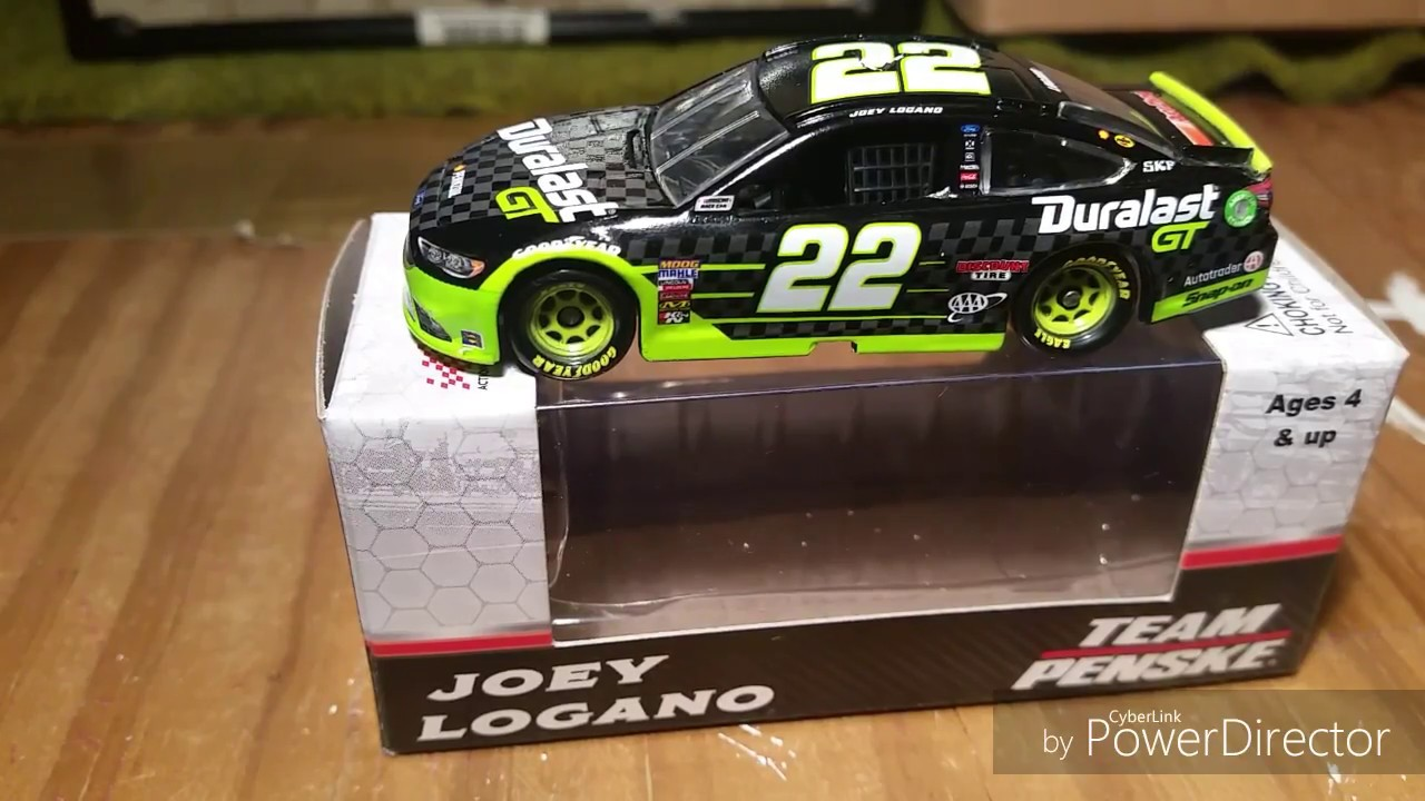 Nascarcast Unboxing Ep  Joey Logano  Duralast Gt  Ford Fusion