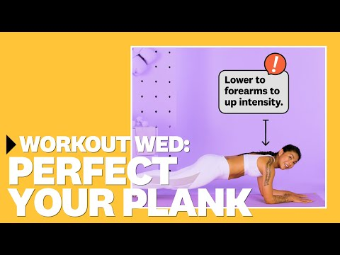 How To Perfect Your Plank With Betina Gozo | #WorkoutWednesday | Women's Health