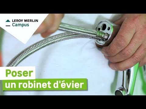 Comment Poser Un Robinet Dévier Leroy Merlin Youtube