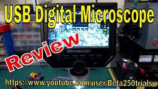 600X 3.6MP USB Digital Microsc…