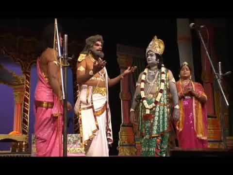 Scenes From Sampoorna Ramayana-Kannada Drama-vol 4- Dasharatha In Grief