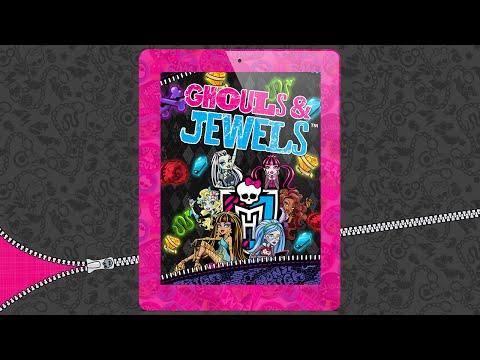 Обзор мобильной игры Monster High Ghouls and Jewels для Android и iOS