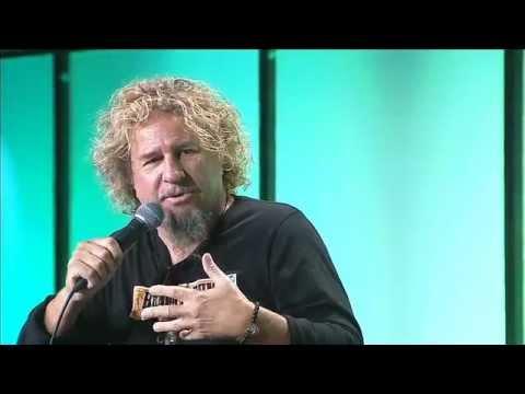 Sammy Hagar - (Part 1) 2012 Middle Market Summit Interview/Performance w/ CNBC's Becky Quick
