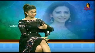 Rakul Preet Singh Excellent Singing Talent || #Sarrainodu || Vanitha TV