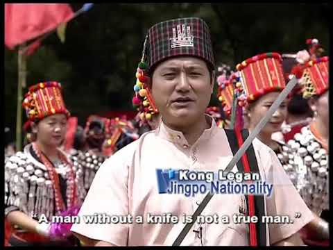 Munao Carnival--Jingpo Ethnic Minority Group 目瑙纵歌 景颇族