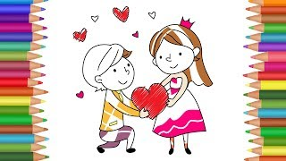 Wedding Coloring Pages for Kids | Little Bride and Groom Wedding Coloring Book | Amazing Kids