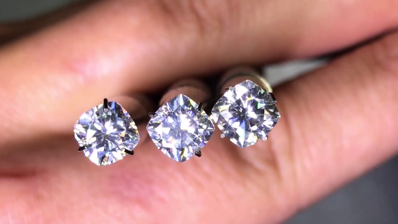 moissanite near cut round diamond youtube watch ghi colorless neo