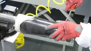 Prothèse tibiale carbone (Vidéo 2/2) : Fabrication de la prothèse définitive à OPR Rennes