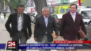 Miembros del GEIN recuerdan captura de Abimael Guzmán hace 25 años