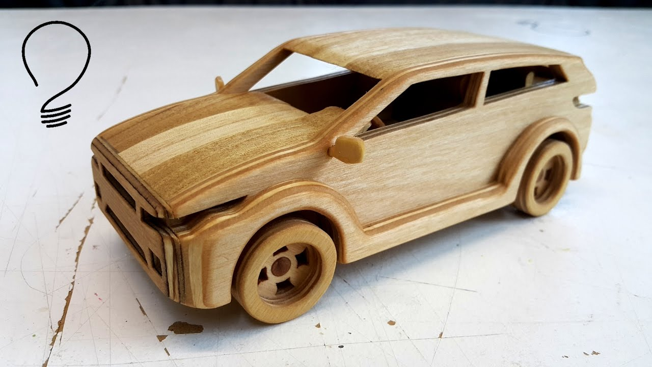 Wooden Range Rover Evoque Toy Car Youtube