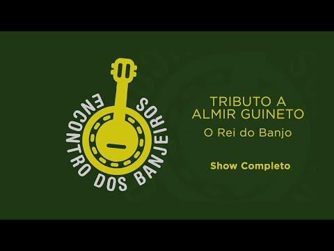 CULTNE QUARENTENA - DVD  Encontro dos Banjeiros -  Tributo a Almir Guineto