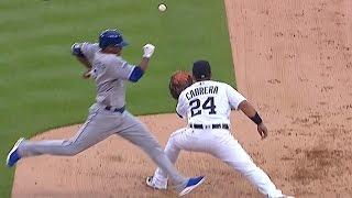 Бейсбол. MLB. Детройт Тайгерс - Канзас-Сити Ройялз (15.08.2016)