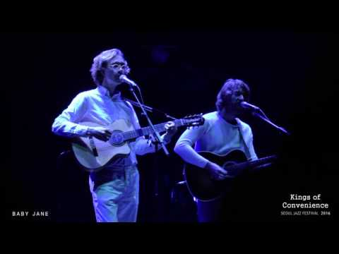 Kings Of Convenience - Mrs  Cold @ Seoul Jazz Festival 2016