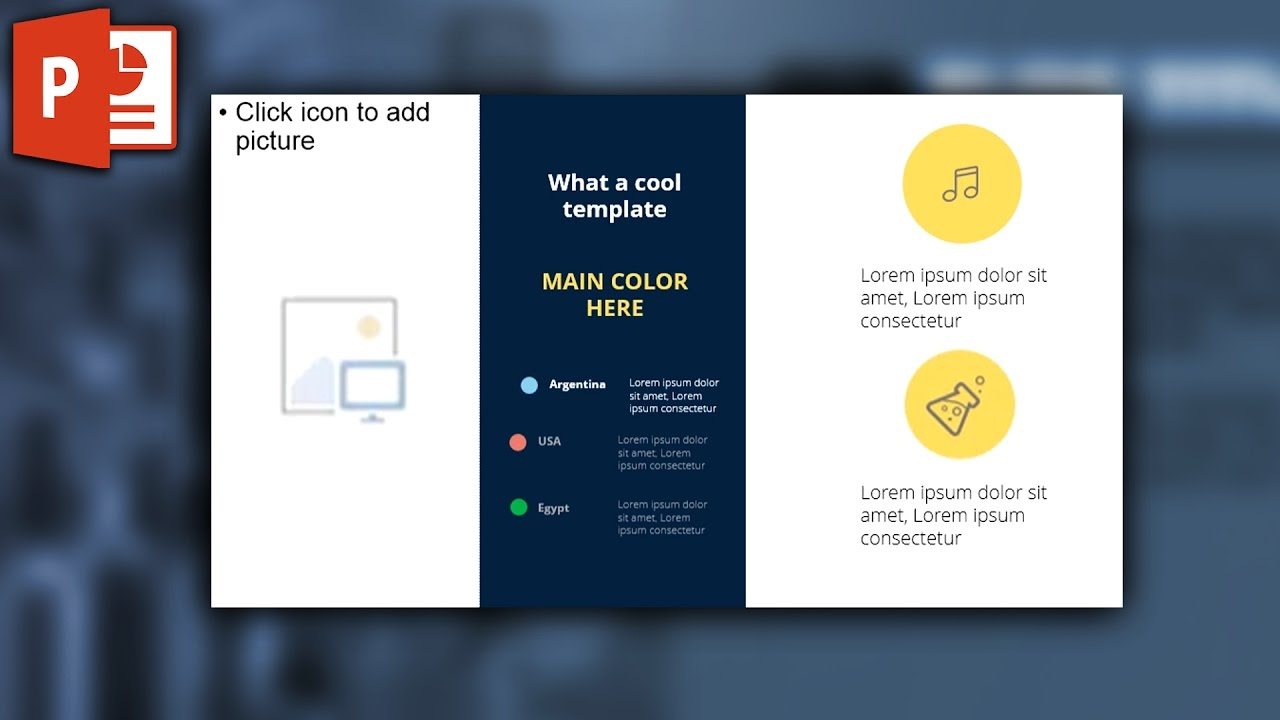 ppt design template