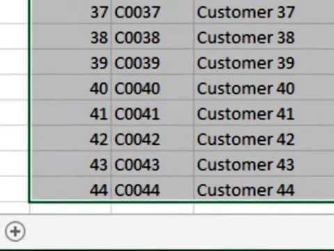 Bảng và hàm SubTotal trong Excel!