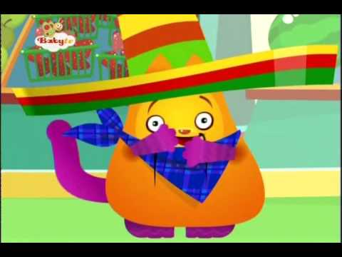 BabyTV Hungry Henry orange juce english