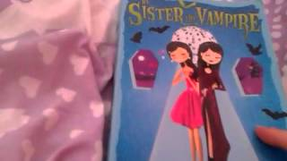 Book review episode 4: My sister the vampire LOVE BITES