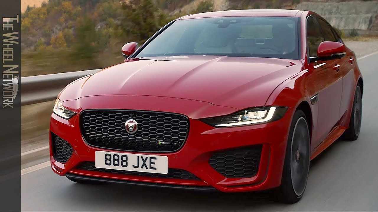 2020 Jaguar Xe Driving Interior Exterior Youtube