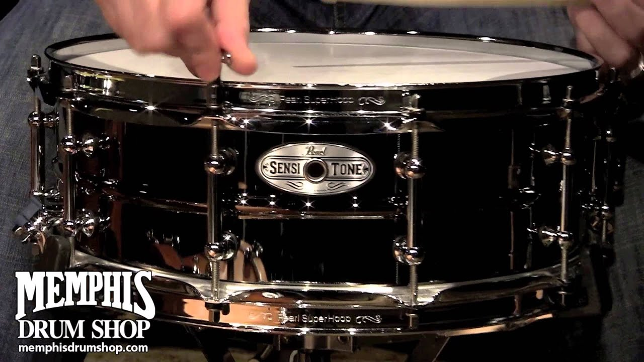 Pearl B4514 Snare Drum : pearl 14x5 sensitone beaded brass snare drum youtube ~ Vivirlamusica.com Haus und Dekorationen