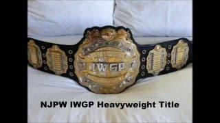My Top 10 Pro Wrestling Championship Belts