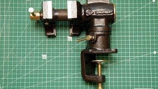 Поворотные тиски ЗУБР 32480 - краткий обзор.(Приобрел для мелких домашних нужд поворотные тиски ЗУБР (МАСТЕР) 32480 и сделал краткий обзор по ним. Предназн..., 2013-12-16T19:16:59.000Z)