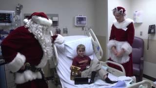 Santa & SPPD Spread Holiday Joy To Kids At Hospital