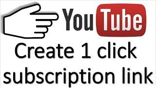 {HINDI}Maken 1 klik op de link abonnement op uw youtube-kanaal   stijging van de abonnee   groeien kanaal