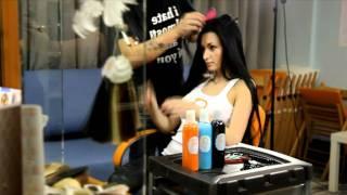 Феофилактова наращивание волос в студии Angelohair