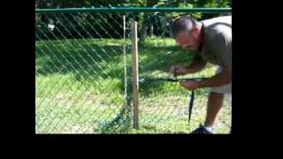 How To Stretch A Chain Link Fence