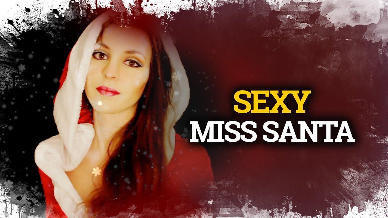sexy miss santa makeup u costume maquillaje y disfraz mama noel sexy