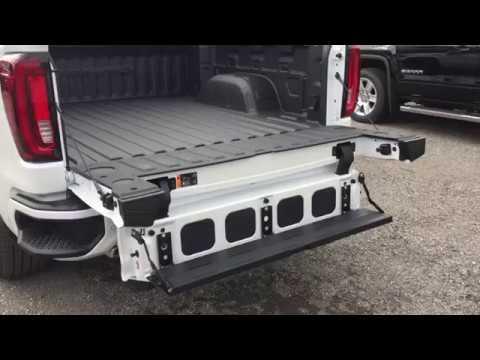 2019 Sierra 1500 Denali Multi Function Tailgate Demonstration Youtube