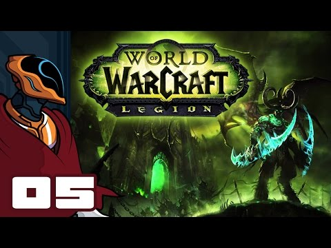 Let's Play World of Warcraft: Legion - PC Gameplay Part 5 - Onwards, To Azsuna!