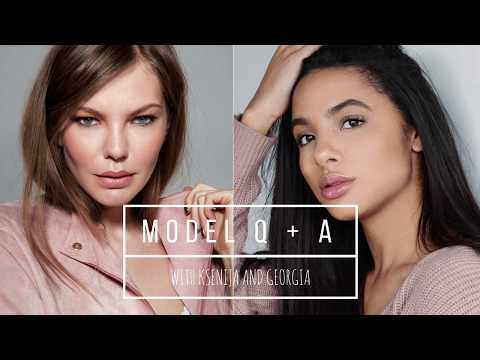 MODEL Q + A | Georgia + Ksenija @ Boss Model Management