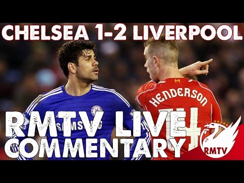 Chelsea 1-2 Liverpool | RMTV Live Commentary