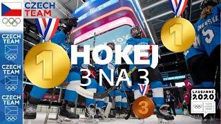 Olympijské hry mládeže: Medailový hokej 3 na 3 ????