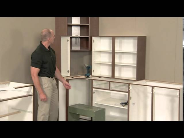 Cabinetry Installation Kitchen Craft Cabinetry Youtube