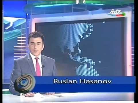 AZTV (Azerbaijan) clock and midnight news titles