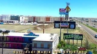 Amarillo Texas aerial video April 2 2016