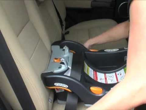 Chicco KeyFit 30 Infant Car Seat Installation Videoflv