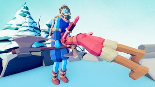 Headbutter Raises an Army vs the Ullr in TABS - Totally Accurate Battle Simulator Mods
