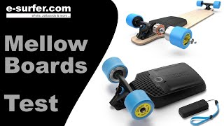 Hitting 42 KMH on the MELLOW! - Mellow Board Test