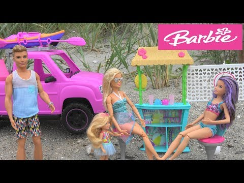 Barbie and Ken on the Beach Story with Barbie Sisters Chelsea and Skipper: Swimming with Mermaids