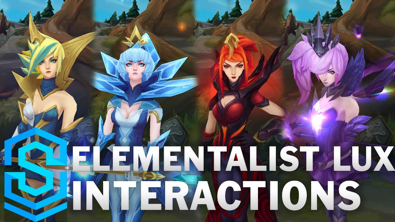 Elementalist Lux Special Interactions - YouTube