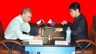AAI Grandmaster Chess Tournament - Victor Laznicka vs. Wesley So