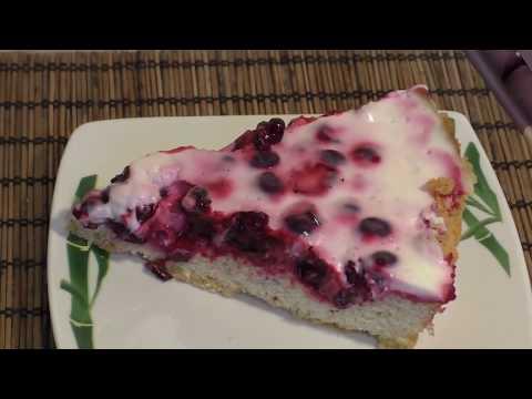 Пирог со смородиной. Вкусно и просто.
