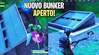 NEW BUNKER FOUND! YOU CAN OPEN IT! Secret passage on Fortnite Battle Royale?